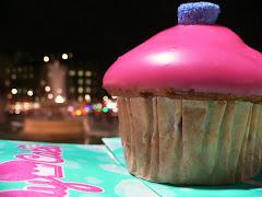 Giant Cupcake Attacks Trafalgar Square