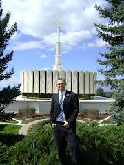 Elder Grant & Provo Temple