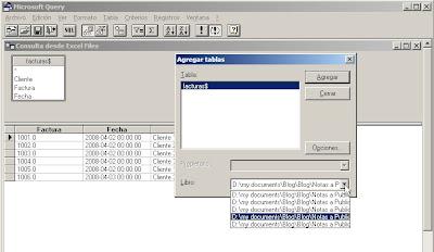 consolidar datos con Excel