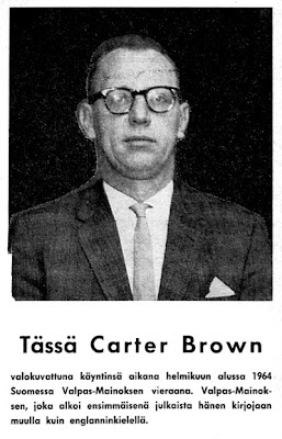Allan Geoffrey Yates alias Carter Brown
