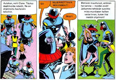 Markos - robottiajan sankari