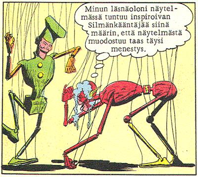 Silmänkääntäjä vetää väärästä narusta (Salama 3/71)