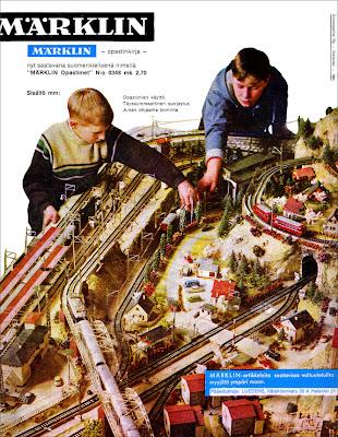 Märklin-junarata -mainos