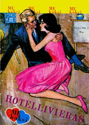 Romanttinen sarjakuvalehti Me_kaksi 5/1963