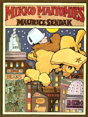 Maurice Sendak: Mikko Maitomies - In the Night Kitchen