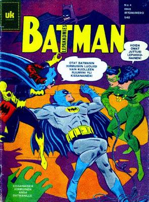 Batman 4/1968 -kansikuva