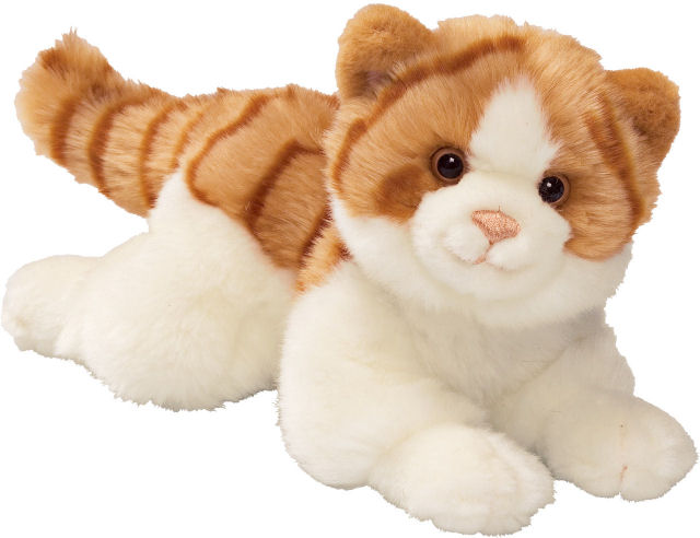 Stuffed toy cat