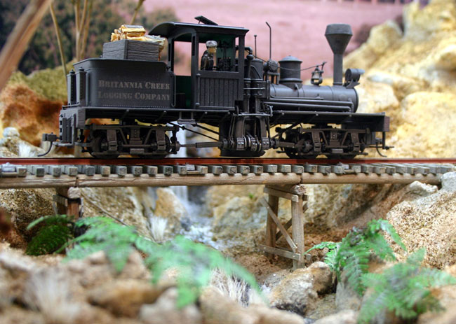 In may 2004 we obtained a bachmann on30 shay here it is following the