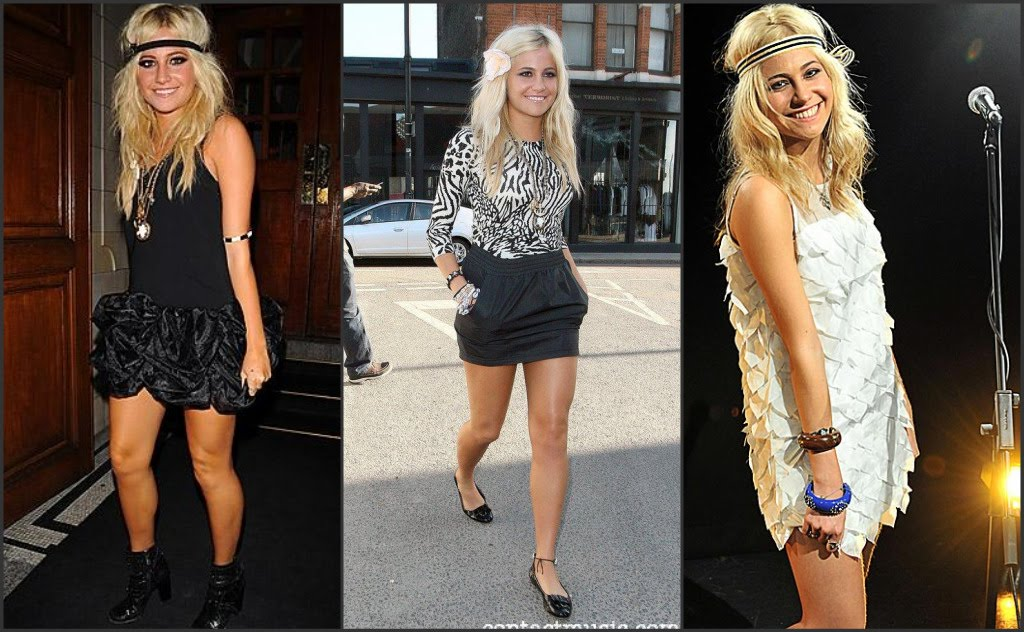 Pixie seems to stick to a lot of black and white clothing which is probably ...
