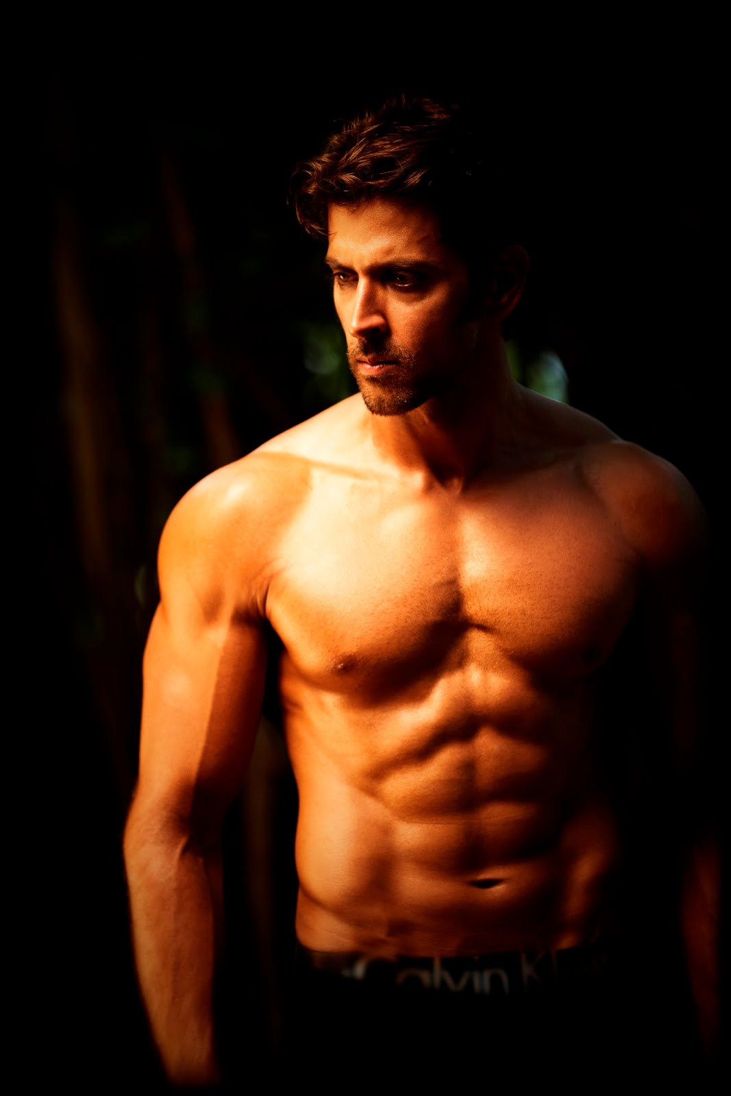 shirtless bollywood men hrithik roshan