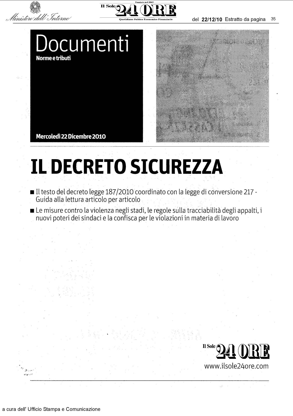 decreto sicurezza - photo #7