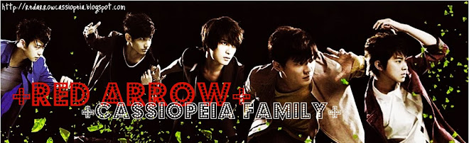 TVXQ - RED ARROW CASSIOPEIA FAMILY