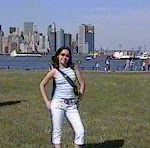 Simone in Statue of Liberty, NY (2003)