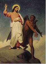 MÉDITATIONS CHRÉTIENNES POUR TOUTE L`ANNÉE - Pere Buse`e - Cie de Jésus - année 1708 Latentaciondecristoporeldiablo
