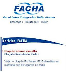 Destaque no site da FACHA