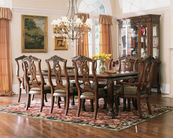 Dining room ideas formal dining room for Formal dining and living room ideas