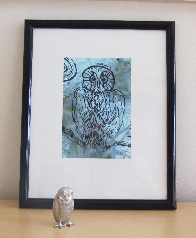 caroline u0027s studio new owl prints and a giveaway