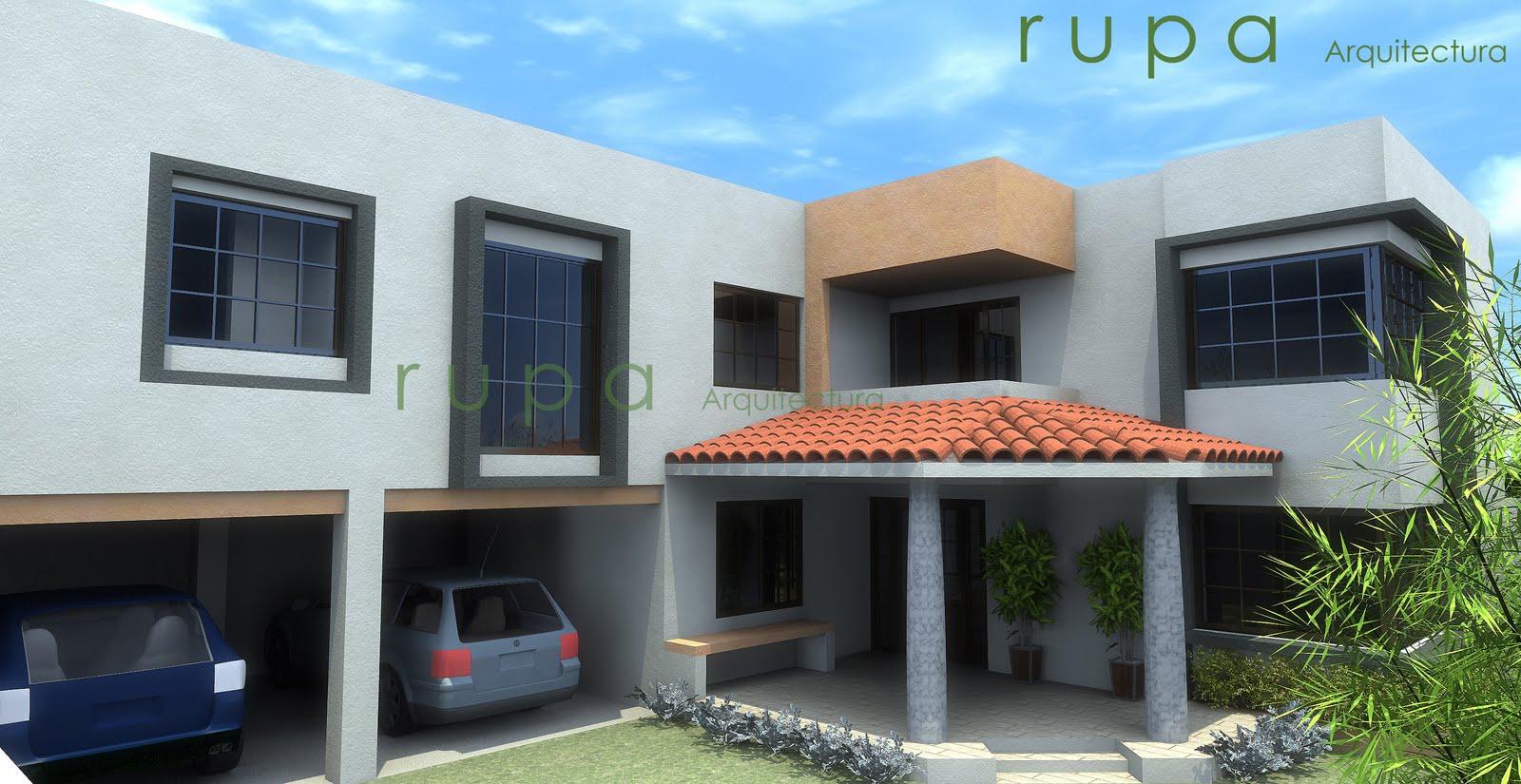 Rupa arquitectura for Piccola casa con avvolgente portico