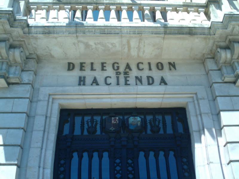 Edificio de Hacienda en Santander