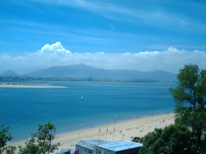 Playa de los Peligros y el Puntal