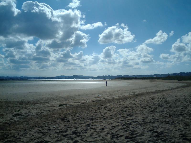 Playa de Somo y el Puntal interior de la Bahía