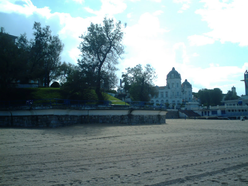 Playa de la Concha en Santander