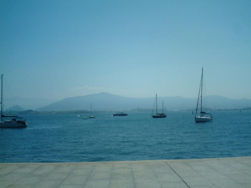 Peña Cabarga desde el Paseo Marítimo del Muelle de Calderón