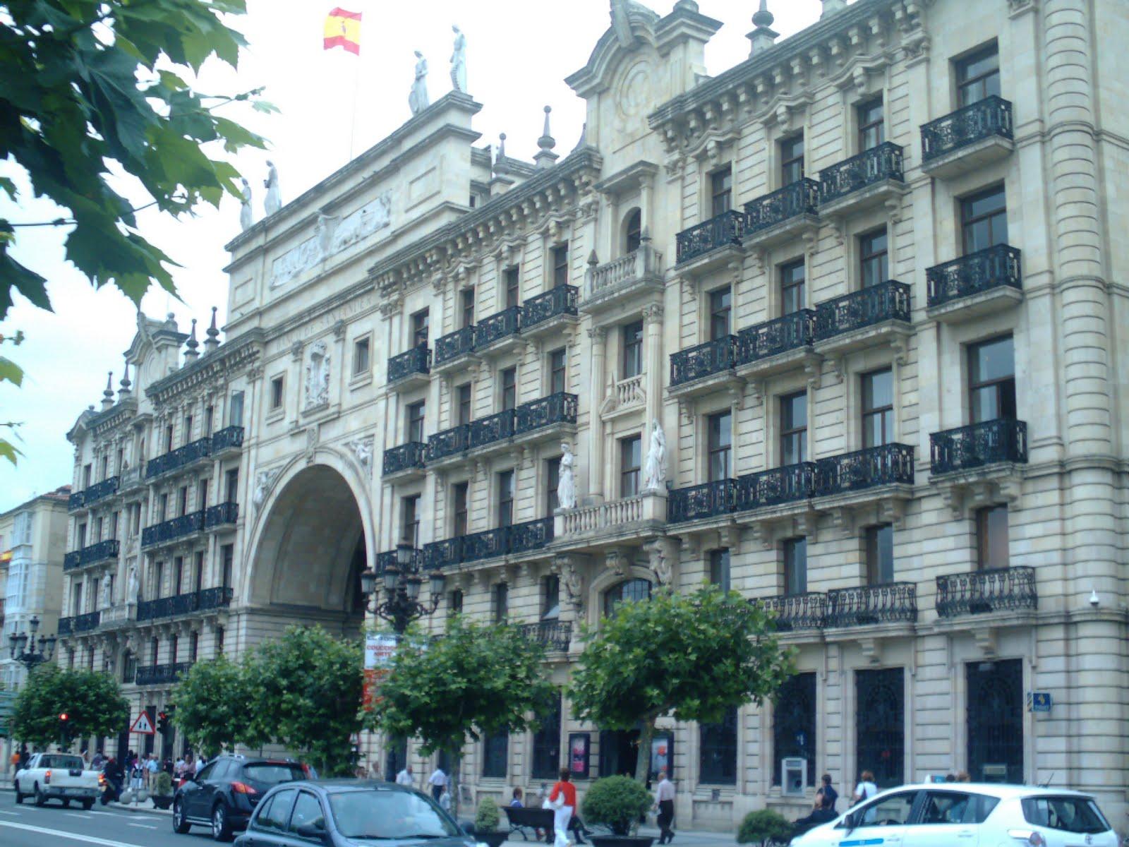 La ciudad habla edificio banco de santander - Casas de banco santander ...