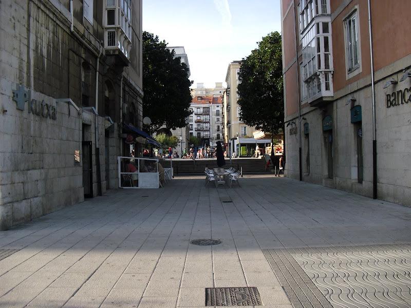 Paseo de Pereda en Santander