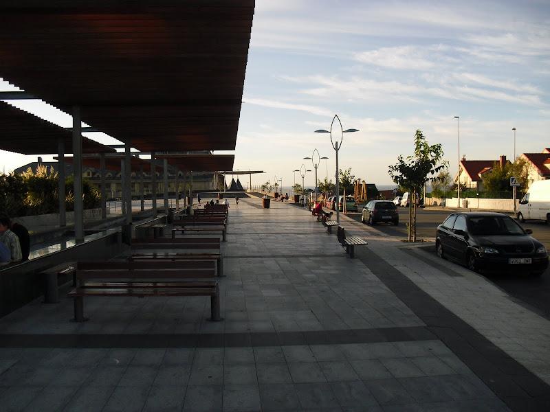 Plaza Adolfo Suarez en Liencres