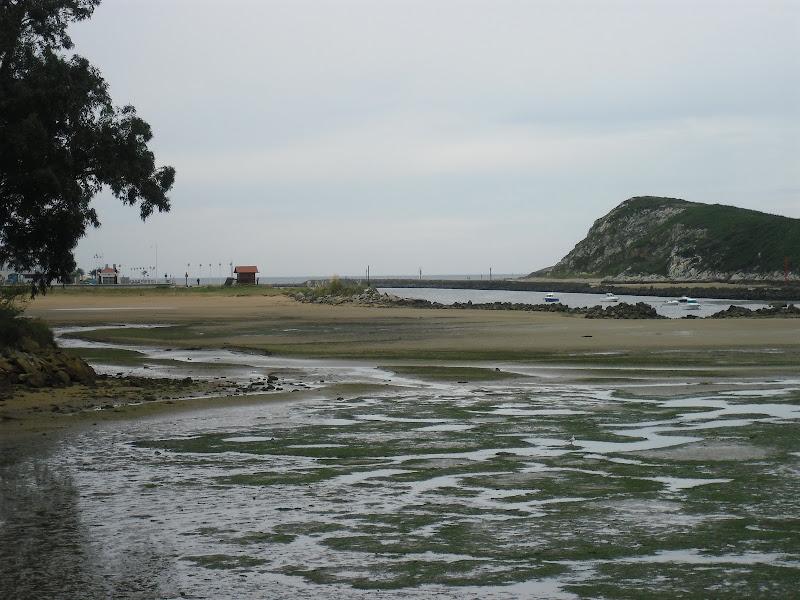 Playa y Parque de la Riberuca en Suances