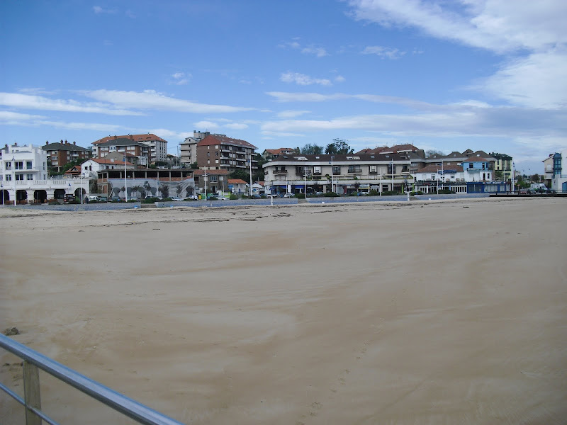 Playa la Ribera en Suances