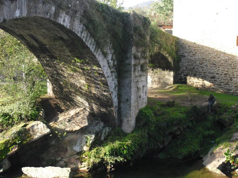 Puente Mayor de Lierganes y Hombre Pez