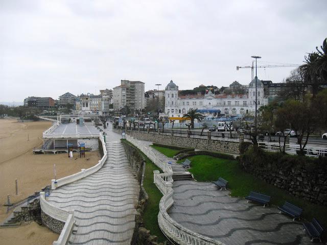 Gran Casino de Santander desde Jardines de Piquio