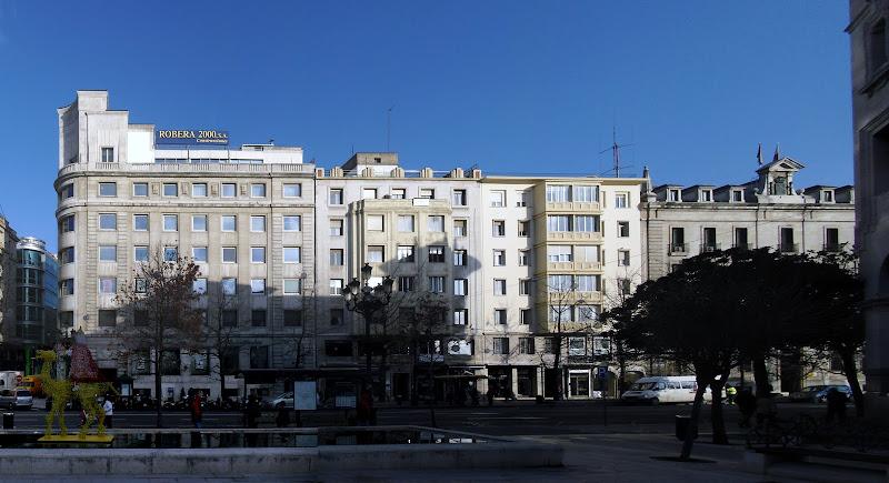 Plaza de las Atarazanas en Santander