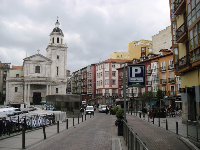 Plaza de la Esperanza de Santander