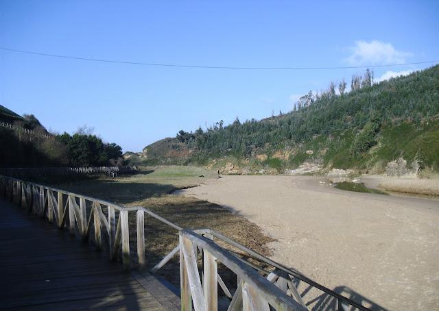 Playa de Galizano en Cantabria