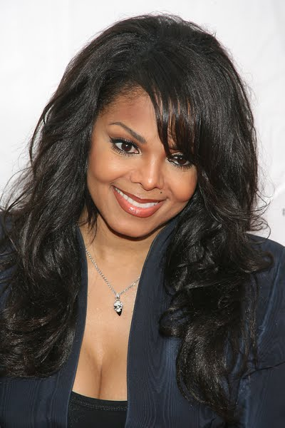 If you want to copy Janet Jackson wavy hairstyles for long hair its actual