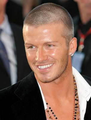 New David Beckham Buzz Men Haircuts 2010
