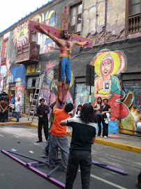 DOMINGO 5 DIC. PROTESTA Y PROCESIN CRISTO ANTI-TAURINO EN ACHO