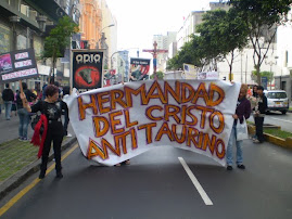 DOMINGO 5 DIC. PROTESTA Y PROCESIÓN CRISTO ANTI-TAURINO EN ACHO