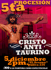 NETE A LA PROCESIN DEL CRISTO ANTI-TAURINO