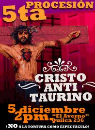 ÚNETE A LA PROCESIÓN DEL CRISTO ANTI-TAURINO