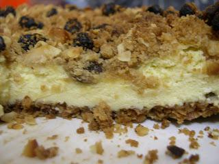 Rum & Raisin Cheesecake - needs more work to make it taste as great as ...