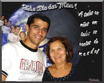 Dia das Mães 2008 Alberto e Sra. Margaret