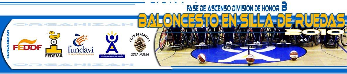 Fase de Ascenso División de Honor B - BSR Avilés 2010
