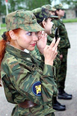 Girls in Russian army