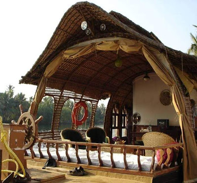 house on boat