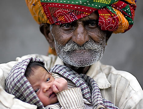 World's oldest new dad