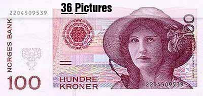 Bank note collection Around the World - 36 Pictures